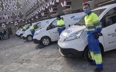 Aqualia renueva su flota en Badajoz con diez vehículos eléctricos