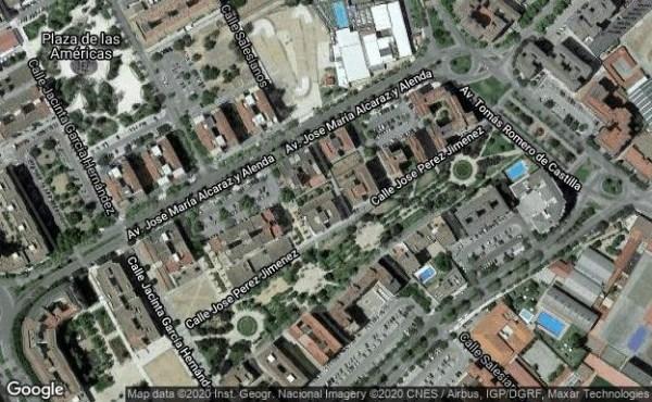 Una mujer, grave tras ser atropellada en Badajoz por una motociclista