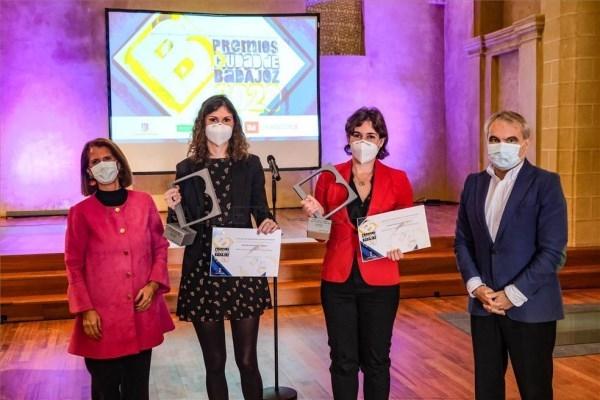 Los ganadores de los Ciudad de Badajoz recogen sus premios