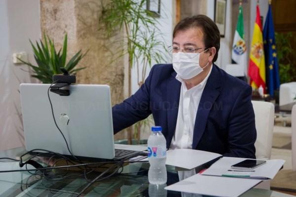 Fernández Vara apela a la unidad, al rigor y al compromiso colectivo en el nuevo escenario que se plantea en el futuro