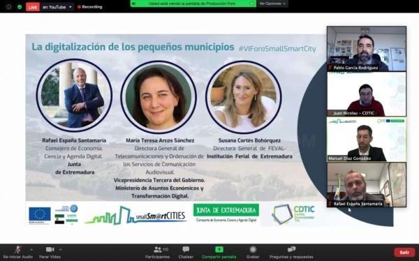 La Estrategia Digital de Extremadura mejorará la conectividad en las áreas rurales mediante el despliegue de fibra óptica o el 5G