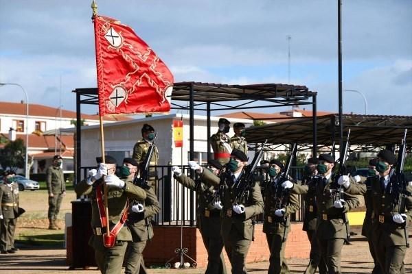 La Brigada XI celebra la festividad de su patrona con medidas anticovid-19