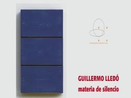"""Exposición temporal de Guillermo Lledó """"Materia de Silencio"""""""