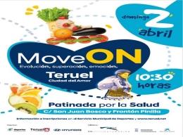 I Patinada por la Salud Move ON Teruel Ciudad del Amor