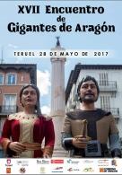 XVII Encuentro de Gigantes de Aragón reunirá en Teruel a 123 gigantes de toda la comunidad autónoma