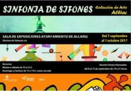 """EXPOSICIóN COLECTIVA """"SINFONíA DE SIFONES"""""""