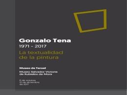 Exposición retrospectiva de Gonzalo Tena, la textualidad en la pintura