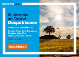 Jornada en Teruel sobre Despoblación
