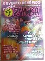 II Evento Benéfico Máster Zumba a favor de Proyecto Gato
