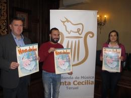 La Banda de Música Santa Cecilia ofrece el concierto Navidades Pasadas por Agua