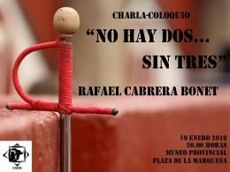 """CHARLA-COLOQUIO """"No hay dos... sin tres"""""""