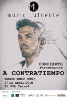 """""""A Contratiempo"""". Concierto de Mario Lafuente."""