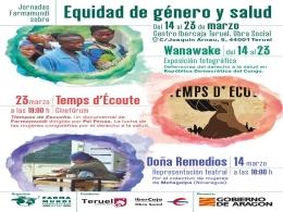 Farmamundi presenta en Teruel sus jornadas sobre equidad de género y salud