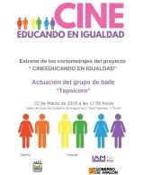Cine educando en igualdad
