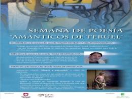 """Semana de poesía """"Amanticos de Teruel"""""""