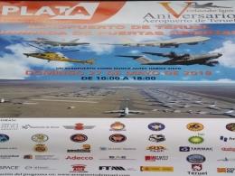 V Aniversario Aeropuerto de Teruel jornada de puertas abiertas