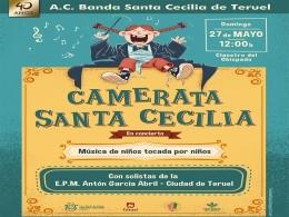 """""""Música de niños tocada por niños"""" - Concierto Camerata Santa Cecilia de Teruel"""