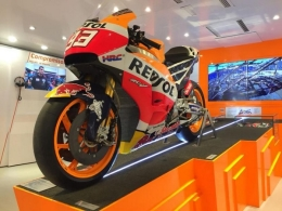 Repsol llega a Teruel con una exposición  sobre el mundo del motor