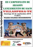 Recuperación de Juegos y Deportes tradicionales de Aragón