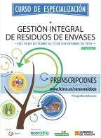 Curso de Especialización en  Gestión Integral de Resíduos de Envases