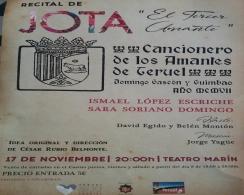Recital Cancionero de los Amantes de Teruel