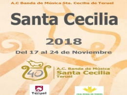 """Actividades programadas por la A.C. Banda de Música """"Santa Cecilia de Teruel"""" y la Escuela Pública de Música """"Antón García Abril"""""""