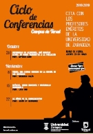Ciclo de conferencias. Campus de Teruel