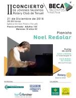 II Concierto de Jóvenes Talentos Rotary Club Teruel