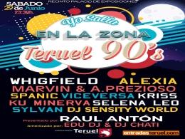 """Festival """"Yo salía en la Zona. Teruel 90's"""""""