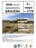 XVIII Ruta Senderista 2019 Báguena