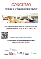 Viste con tu arte la Biblioteca del Campus de Teruel