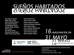 """Estudiantes de Bellas Artes muestran sus """"Sueños habitados"""" en Fundación Térvalis"""