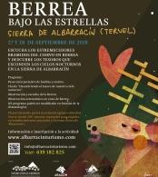 """""""Berrea bajo las estrellas"""" Sierra de Albarracín"""