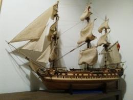"""Guillermo Paterson, exposición """"Modelismo Naval"""""""