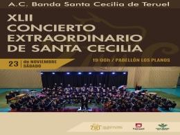 """Actividades programadas por la Escuela Pública de Música """"Antón García Abril Ciudad de Teruel"""" y la A.C. Banda de Música Santa Cecilia"""