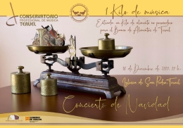 El Conservatorio Profesional de Música de Teruel celebra el Concierto de Navidad