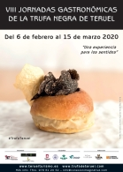 50 establecimientos participan en las Jornadas Gastronómicas de la Trufa Negra de Teruel