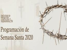 Emisiones programadas para Semana Santa por la Diócesis de Teruel y Albarracín