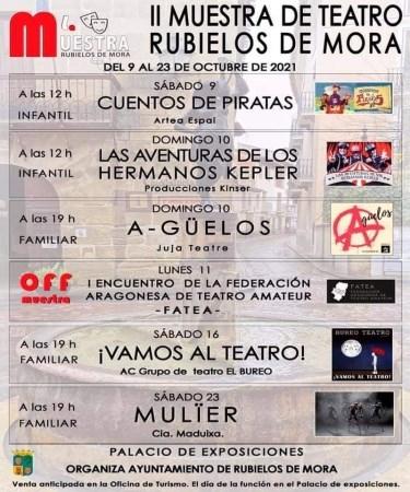 II Muestra de Teatro de Rubielos de Mora