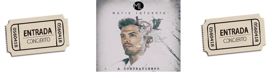Concierto Mario Lafuente. Reserva tu entrada.