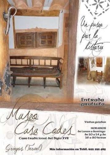 MUSEO CASA CODES