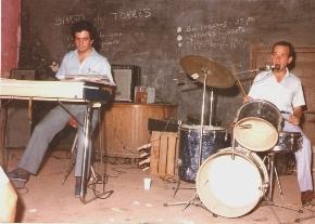1985-Con Francisco Méndez