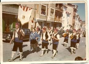 1980-De rondalla en Cella
