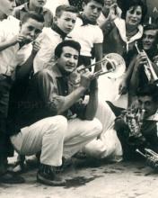 1967-Antonio con tronbón