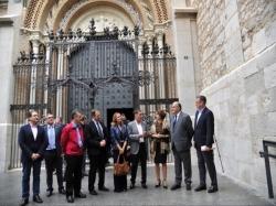 """Mayte Pérez: """"La catedral de Teruel hace latir desde el centro de la ciudad el corazón de los turolenses"""""""