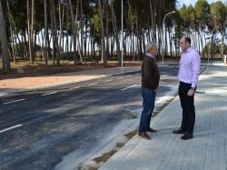 El Ayuntamiento de Alcañiz finaliza el vial de Puigmoreno y espera iniciar en marzo la licitación de las nueve parcelas