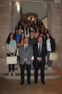 La Diputación de Teruel entrega los Premios San Jorge de Narrativa y Pintura con los que se reconoce el talento de los jóvenes de la provincia