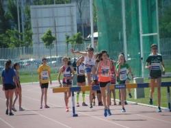 Clubes  turolenses en el Campeonato  de Aragón Infantil de Atletismo en Pista