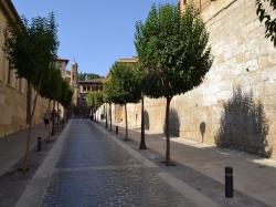 Finaliza la reparación de la calle Subida del Teatro, una de las principales vías de acceso a la plaza de España