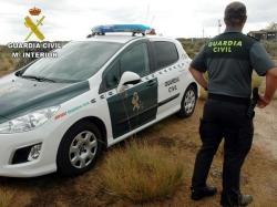 Detenido el presunto asesino de tres personas, dos de ellas guardias civiles, en un tiroteo en Albalate del Arzobispo (Teruel)